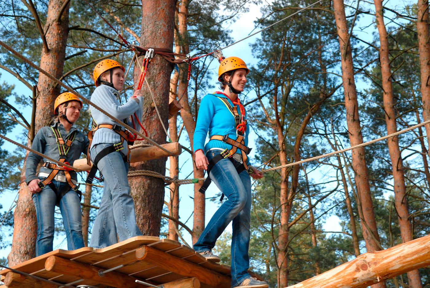 Klettergurt Für Hochseilgarten : Hochseilgarten havelberge haveltourist gmbh co kg